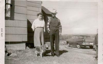 Grandpa's Mink Dog
